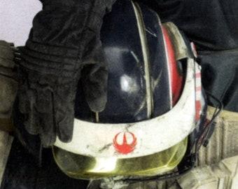 Star Wars Rogue One Blue Squadron - Rebellion Decal - Wren Phoenix Crest