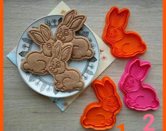 Hare Cookie Cutter. 3D Printed cutters