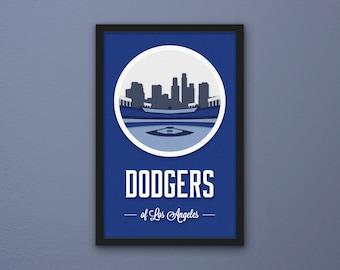Los Angeles Dodgers Print