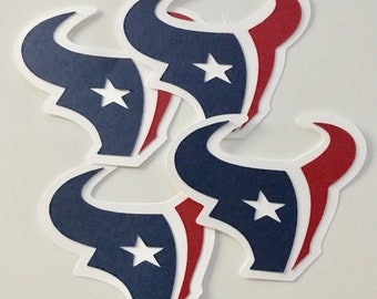 Houston Texans Gift Bag Decor