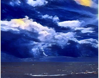 Canvas print: Clouds in the Sky