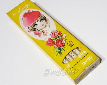 70's Vintage Makoto Takahashi pencils - One dozen (Yellow)