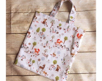 Childs Woodland Tote Bag