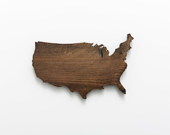 USA | Stained Wood Wall Art
