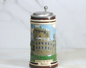 Vintage Beer Stein, George Killian's, 1996, Castles of Ireland, Collectors Stein