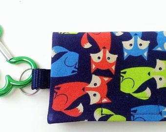 The Bag Buddy - Dog Mess Bag Pouch / Poop Bag Holder / Pet Leash Purse / Dog Waste Bag / Pet Mess / Pet Accessories / Handmade