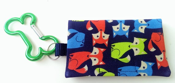 The Bag Buddy - Dog Mess Bag Pouch / Poop Bag Holder / Pet Leash Purse / Dog Waste Bag / Pet Mess / Pet Accessories / Handmade