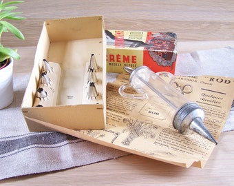 Decoracreme ROD syringe for pastry, fish, hors d'oeuvre Made in France vintage 1950