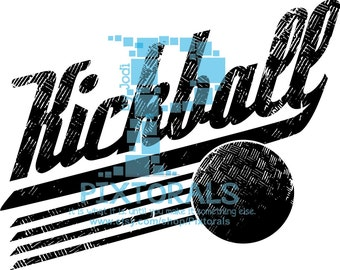 Kickball logo, JPG, PNG and EPS formats as Vector, Kickball Vector, Kickball logo