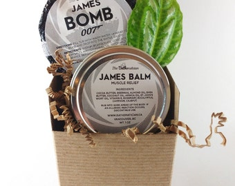 James Bomb Gift Set, Birthday Gifts For Men, Bath Bomb