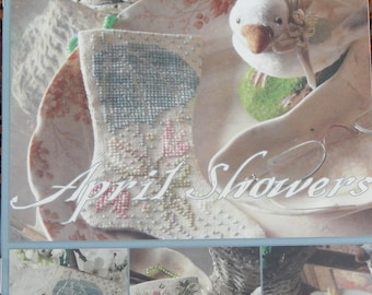 April Showers - Three Stockings for April - By Blackbird Designs