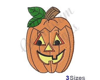 Jack-O-Lantern - Machine Embroidery Design