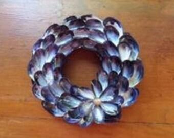 XS Mussel Shell Wreath