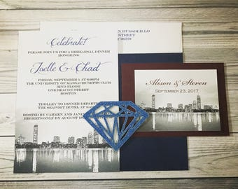 Boston Wedding Invitations