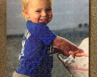 300 Pc Custom Puzzle, Create your own puzzle, Personalized Puzzle, Photo Puzzle, Puzzle Gift, Jigsaw Puzzle, Cardboard Puzzle