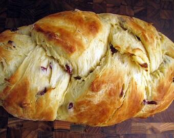 Cranberry Brioche Braid, Holiday Bread, Supper Bread, Breakfast Bread, Egg Bread, Yeast Bread, Homemade Bread, Bread