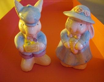 Mr. & Mrs. Peter Rabbit Decorations