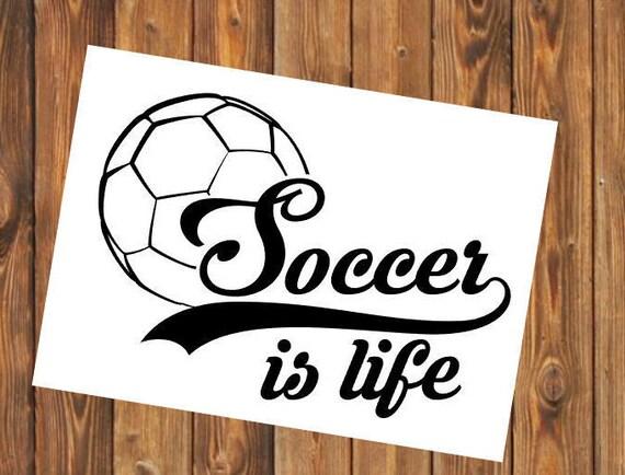 Free Shipping- Soccer Futbol Yeti Decal Sticker, Coach, Sports Team, Elite, Yeti RTIC Water Bottle Decal Sticker