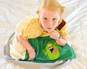Ghostbusters and Slimer Halloween or Play Dress