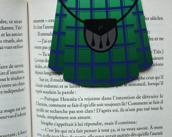 Kilt / / 1 magnetic bookmark