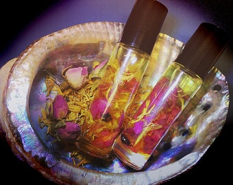 Litha Perfume Oil, Midsummer, Summer Solstice, Anointing Oil, Setting the Watch