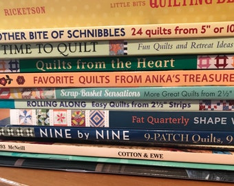 BOOK COLLECTION, Quilting , Various Authors, Box 8