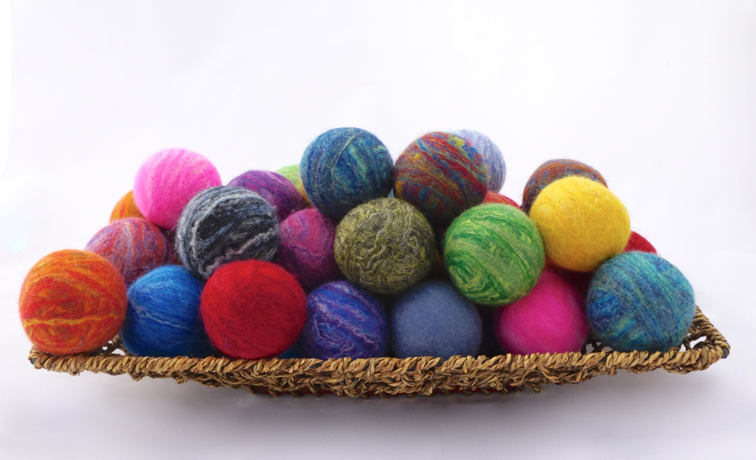 how to make felted soap balls