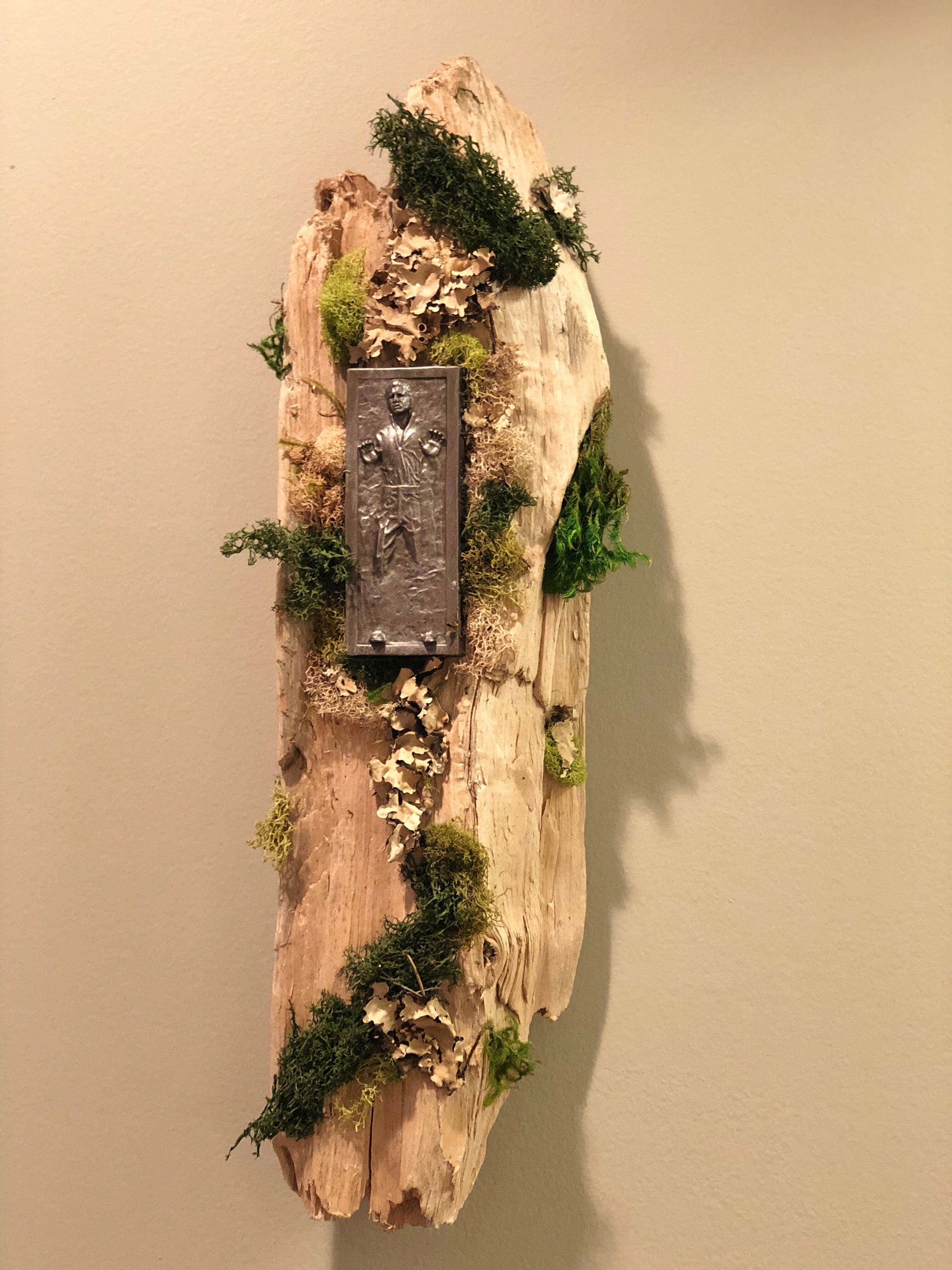 Han Solo Carbonite Driftwood Wall Hanging