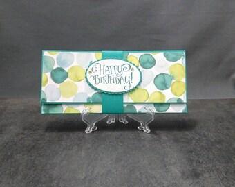 Handmade Gift Card Holder - Money / Check Holder