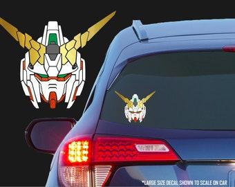 Gundam Unicorn [Destroy Mode] - RX-0 Vinyl Decal for Cars, Laptops, Tablets, Water Bottles, Etc. - Mobile Suit Gundam Unicorn