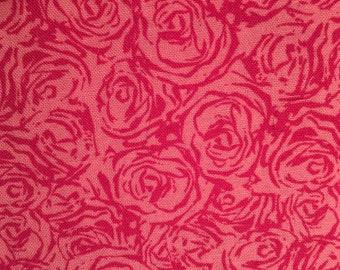 Pink Rose Over The Collar Bandana
