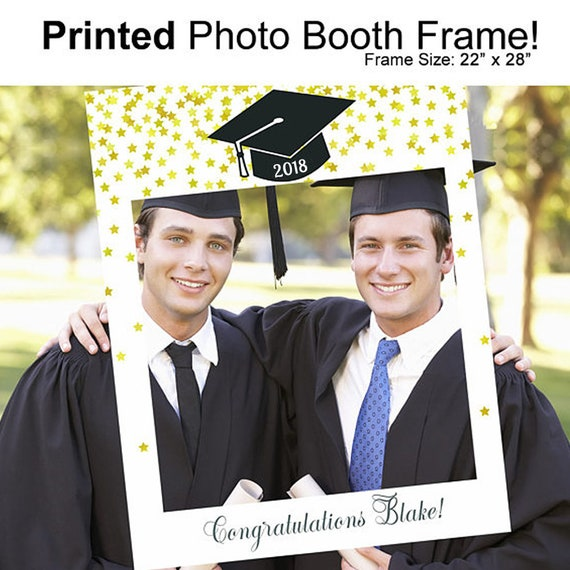 Photo Booth Frame Graduation Graduation Photo Booth Props