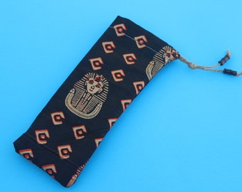African Patterned Case (Sunglasses, Glasses, Pencil, Makeup etc...)