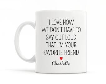 Personalized Best Friend Gift for Best Friend Christmas Gift Funny Best Friend Mug Best Friend Wedding Gift Best Friend Birthday Gift