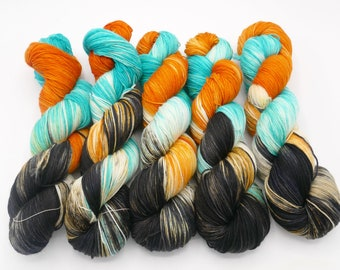Sid Fishious Lovely Hand Dyed Sock Yarn - In Stock