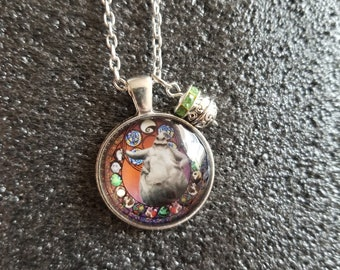 Handmade boogie  Necklace and Charm
