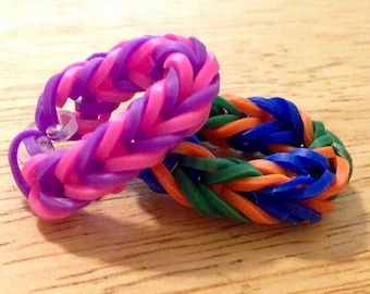 2 Color Rubber band Ring