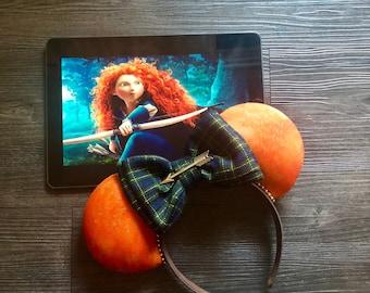 Brave, Merida, Disney Ears, Pixar