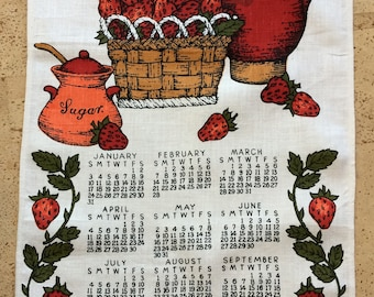 Bill Brister 1971 Linen Tea Towel