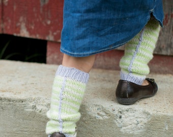 make your own Unseamed Leg Warmers (DIGITAL KNITTING PATTERN) infant baby toddler child tween teen adult