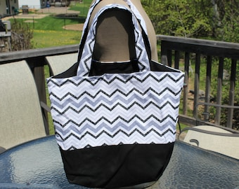 Homemade Two Color Tote Bag