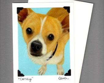 Chihuahua Card - Chihuahua Mix - Dog Card - Proceeds Benefit Animal Rescue