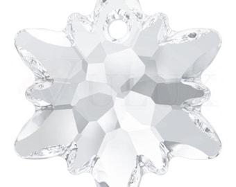 Swarovski 6748 Edelweiss Pendant  18 mm Crystal