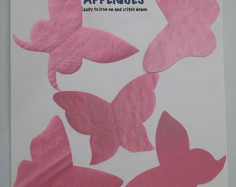 butterfly applique set