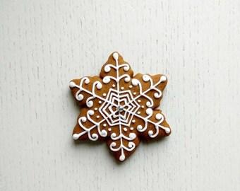Cookies Christmas, Santa star gingerbread Star