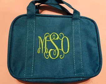 Monogrammed LDS Scripture bag, Baptsim gift, bible tote, Monogrammed with handles