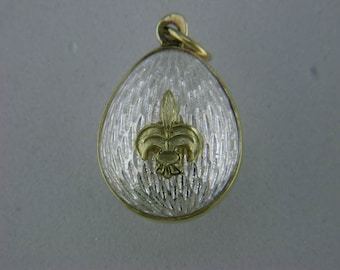Timeless Faberge' Style Egg Pendant