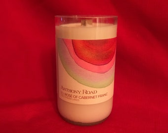 Japanese Cherry Blossom Scented Wine Bottle Candle