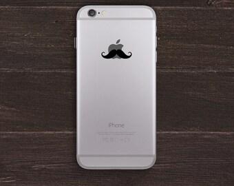 Mustache Vinyl iPhone Decal BAS-0144