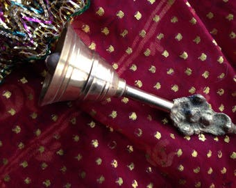 Small Brass Indian Bell